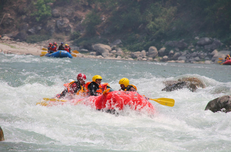1 Day Bhotekoshi River Rafting