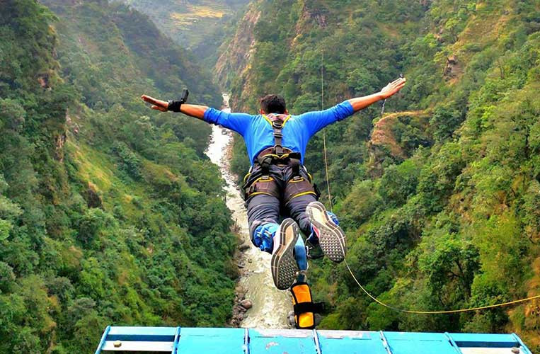 2 Days Bungee Jump in Bhotekoshi