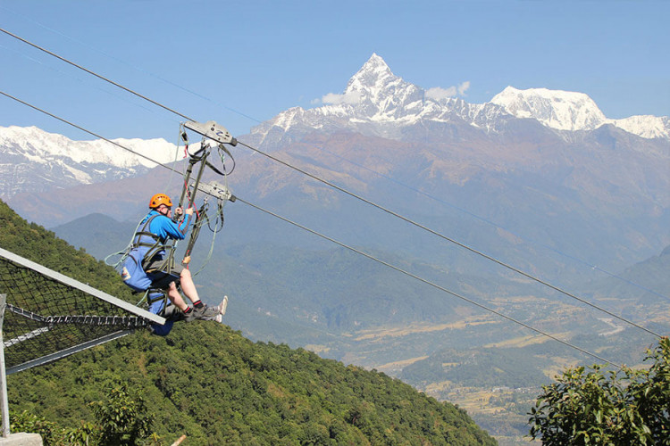 1 Day Dhulikhel Zipline Tour