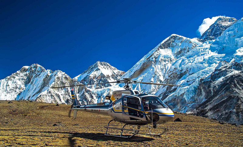 Everest Base Camp with Helicopter Tour - 5 Hours