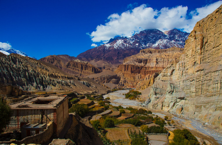 Lower Mustang Trek with Poonhill - 12 Days