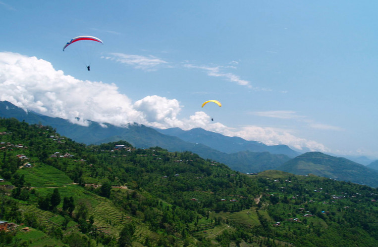 1 Hour Paragliding in Pokhara