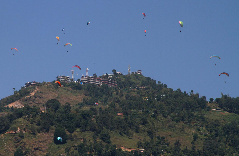 Paragliding in Pokhara -  30 Minutes