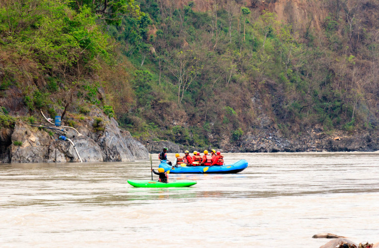 Trishuli River Rafting - Overnight Package